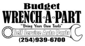 Budget Wrench a part Logo - Proud sponsor of the ASCO Spartacus Dash