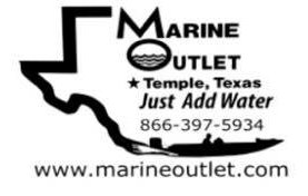 Marine Outlet Logo - Proud sponsor of the ASCO Spartacus Dash