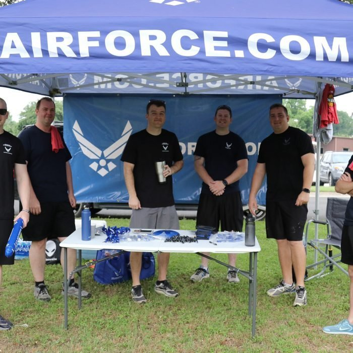 Air Force - Proud Sponsor of the ASCO Spartacus Dash
