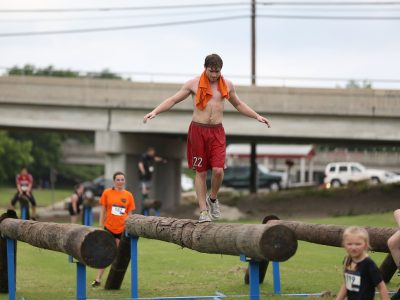 Balance Beams Obstacle - ASCO Spartacus Dash